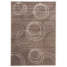 Viva Modern Brown Contemporary Rug