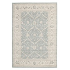 Chobi Design Rug Light Blue Bone