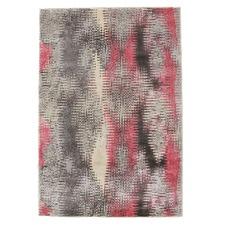 Hannah Matrix Rug Pink Grey