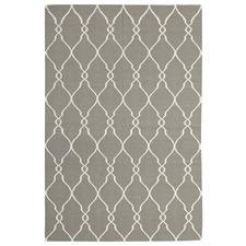 Delica Flat Weave Rug Grey