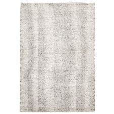 Carlos Felted Wool Rug Grey Natural