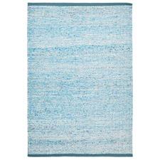 Zigga Flat Weave Rug Blue