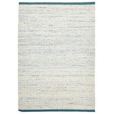 Zigga Flat Weave Rug Turquoise