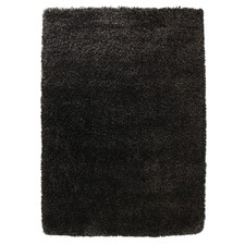 Ultra Thick Charcoal Shag Rug