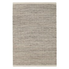 Mani Natural 100 Pure New Wool Scandinavian Style Flatweave Rug