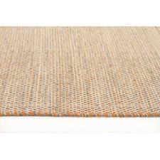 Alpine Rust 100 Pure Wool Scandinavian Style Flatweave Rug