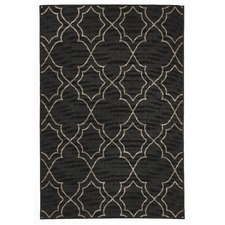 Charcoal Kakadu Tile Indoor/Outdoor Rug