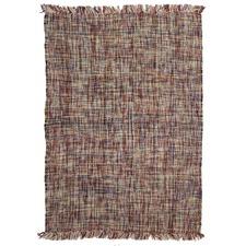 Arya Scandinavian Style 100% Pure New Wool Multi Rug