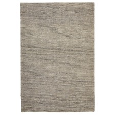 Elias Scandinavian Style Wool and Jute Natural Rug