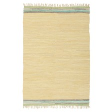 Ocean Jasmine Hand Braided Yellow Rug