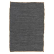 Card Jasmine Hand Braided Charcoal Rug