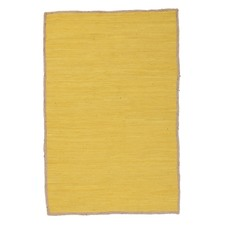 Card Jasmine Hand Braided Yellow Rug
