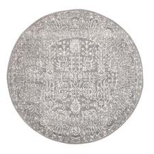 Silver & Round Art Moderne Matisse Rug