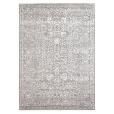 Grey Art Moderne Lalique Rug
