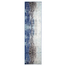 Blue Art Moderne Noveau Runner