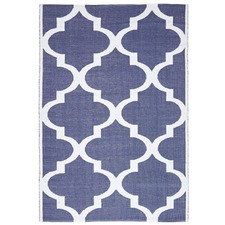 Edward Recycled Navy Rug