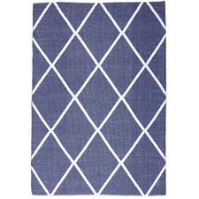 Shirley Recycled Navy Rug