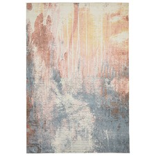 Burnished Peach Digital Multi Rug