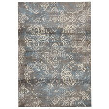 Cashmere Grey Digital Print Rug