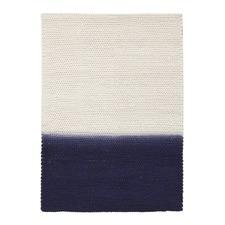 Imogen & Baker Blue Wool Dip Dyed Rug