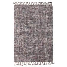 Annika Grey Modern Wool Blend Rug