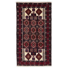 Alaine Hand Knotted Traditional Wool Rug