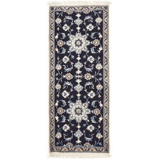 Irene Hand Knotted Naen Persian Wool Rug