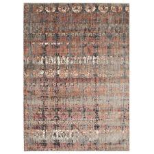 George Abstract Silky Modern Rug