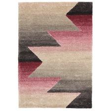 Tyron Pink & Grey Hand Tufted Soft Modern Rug