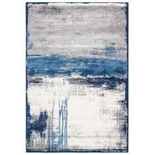 Tigris Blue Soft Power Loomed Modern Rug