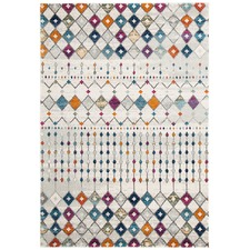 Anzali Colourful Power Loomed Modern Rug