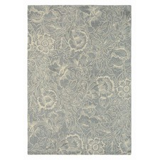 Dove Poppy Hand Tufted Wool Rug