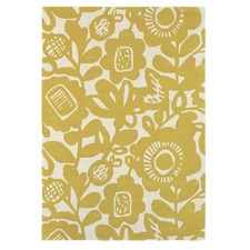 Honey Kukkia Hand Tufted Wool Rug