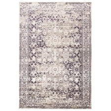 Aubergine Power Loomed Rug
