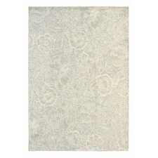 Cream Poppy Hand Tufted Wool Rug