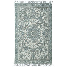 Quinn Hand Loomed Flatweave Pure Cotton Rug