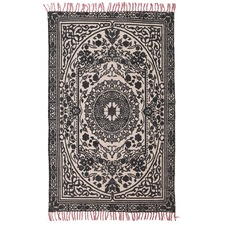 Leroy Hand Loomed Flatweave Pure Cotton Rug
