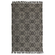 Ruby Hand Loomed Flatweave Pure Cotton Rug