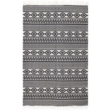 Castro Hand Loomed Flatweave Pure Cotton Rug
