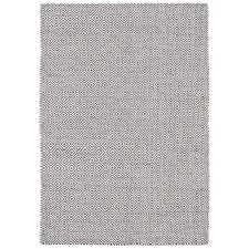 Sher Navy Soft Cotton Hand Loomed Rug