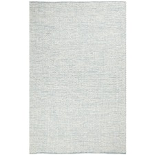 Blue & White Felted Wool Scandi Rug