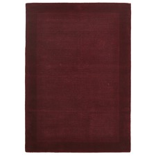 Luxor Wool Red Contemporary Rug