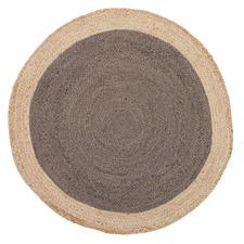 Jasmine Round Charcoal Rug