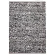 Zigga Flat Weave Rug Black