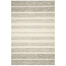 Meli Grey 100 Pure Wool Scandinavian Style Flatweave Rug