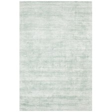 Turquoise Blue Luxe Modern Distressed Rug