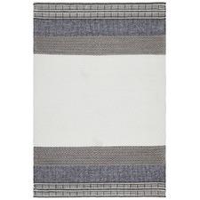 Denim & Grey Scandi Textured Astrid Rug