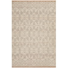 Natural Hand-Woven Modern Tribal Rug