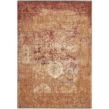 Copper Modern Silky Finish Rug