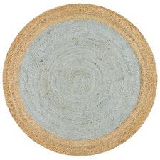 Jute Natural Blue Rug